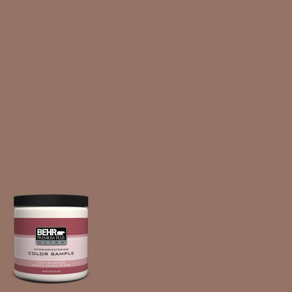 8 oz. #BXC-84 Corral Brown Interior/Exterior Paint Sample