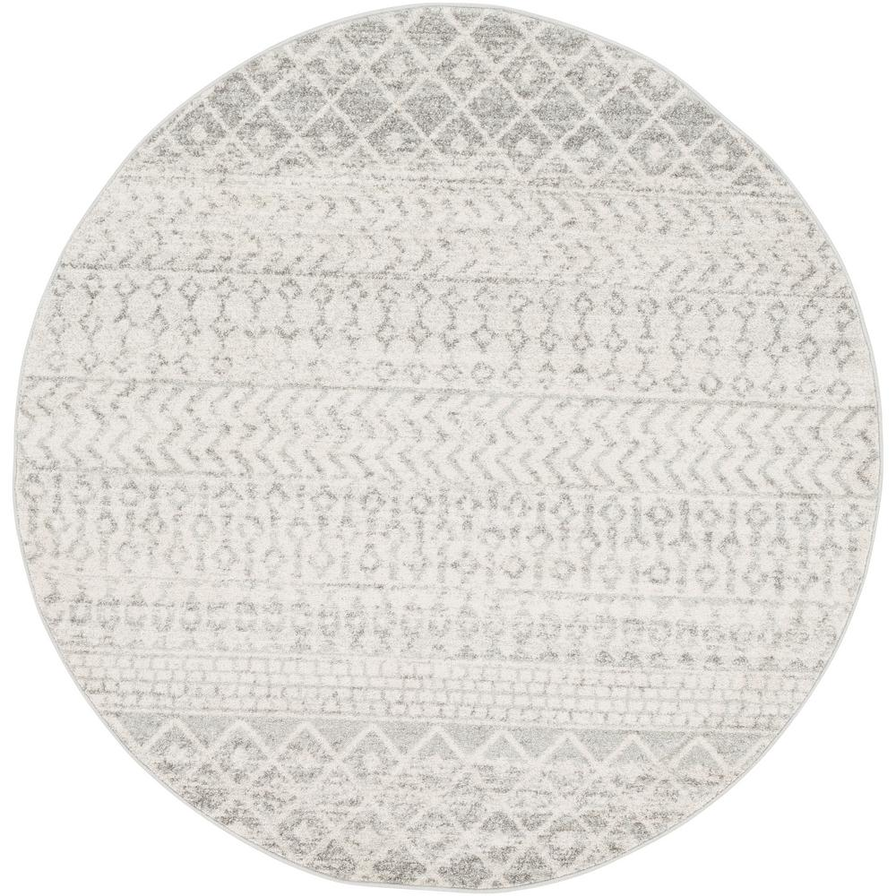 Artistic Weavers Laurine Gray 5 ft. 3 in. Round Area Rug was $170.0 now $62.54 (63.0% off)