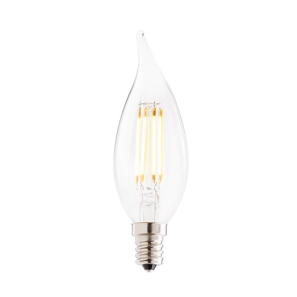 Bulbrite 40w Equivalent Warm White Light A19 Dimmable Led: Bulbrite 40W Equivalent Warm White Light CA10 Dimmable LED