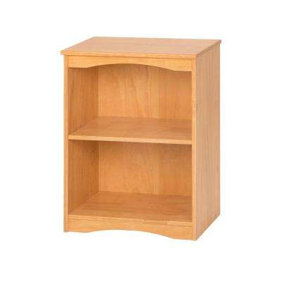 Essentials Natural 23 in. W Wooden Bookcase