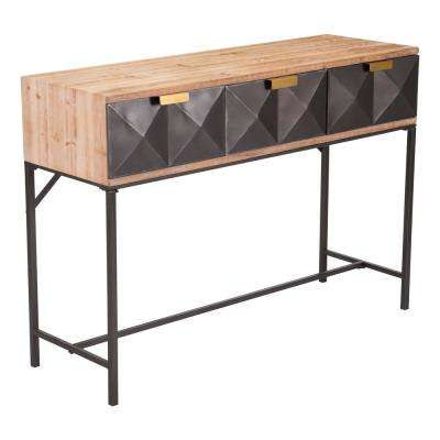 Black Antique Console Table - Antique - Entryway Tables - Entryway Furniture - The Home Depot