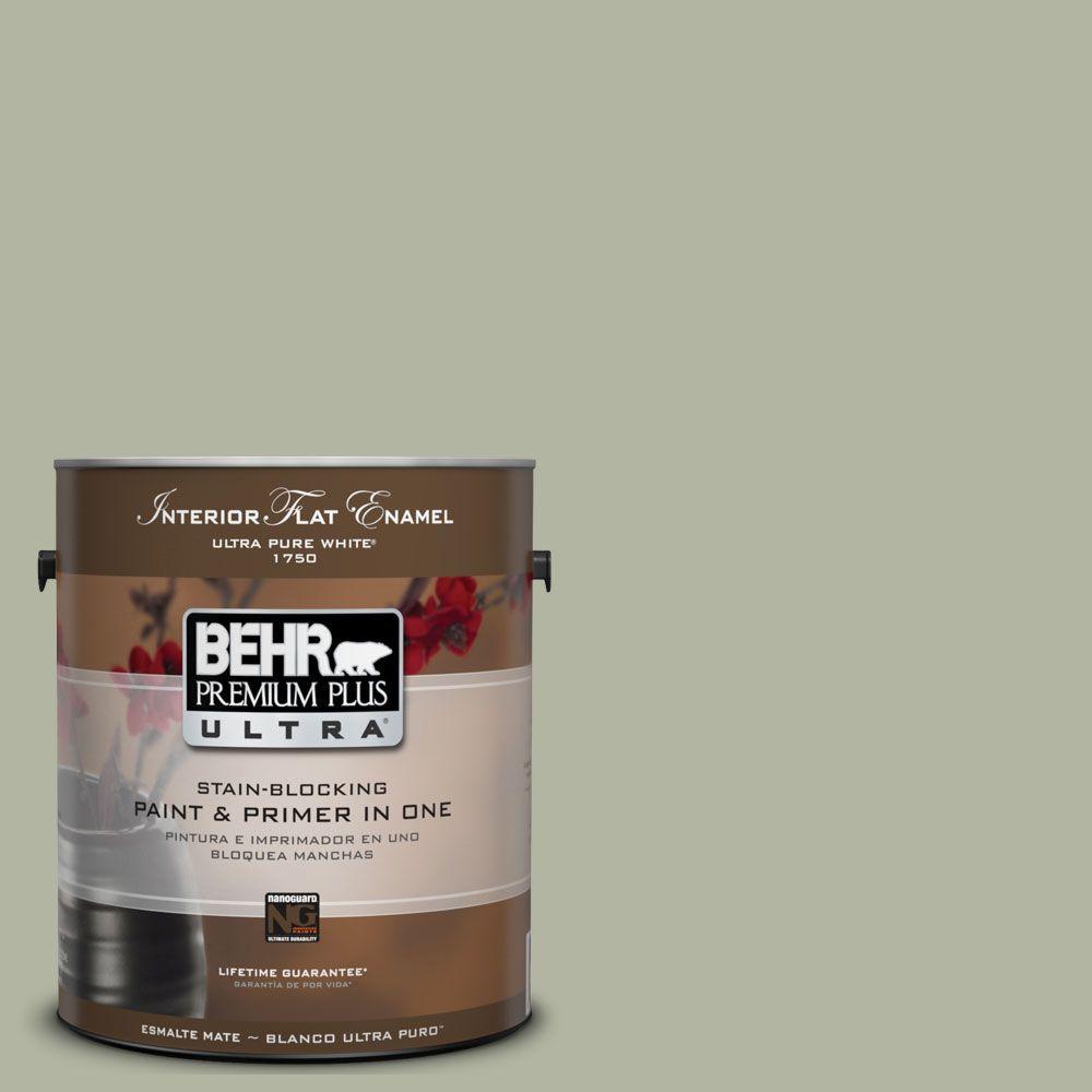 BEHR Premium Plus Ultra 1-Gal. #UL210-6 Environmental Interior Flat Enamel Paint