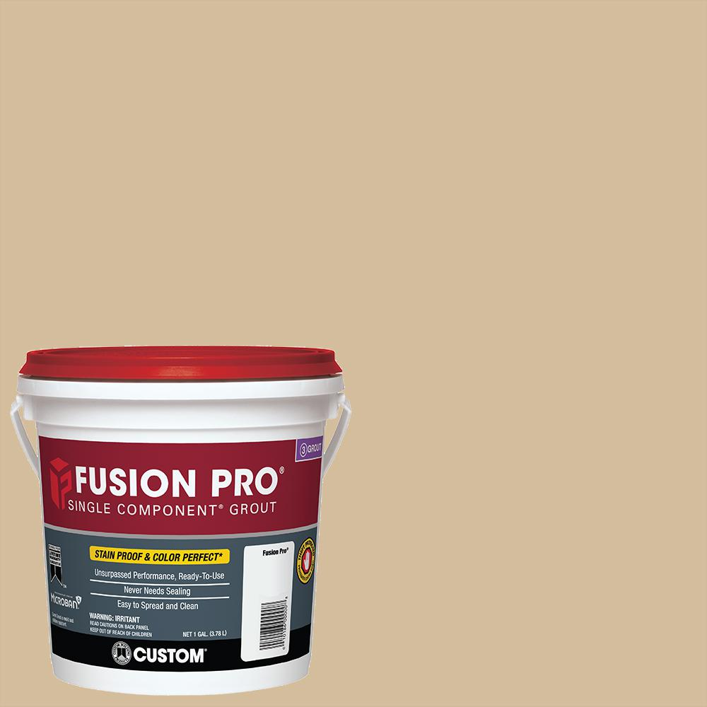 Custom Building Products Fusion Pro #122 Linen 1 Gal. Single Component Grout
