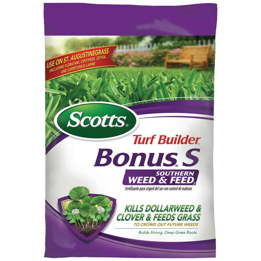Turf Builder Bonus S 35.06 lb. 10,000 sq. ft. Southern Weed and Feed Phosphorus Free Lawn Fertilizer