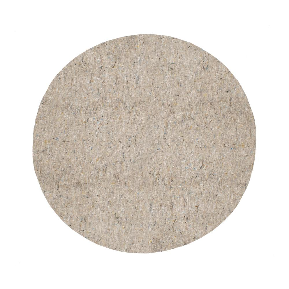 Mohawk Home 4 Ft 10 In Round Supreme Dual Surface Rug Pad