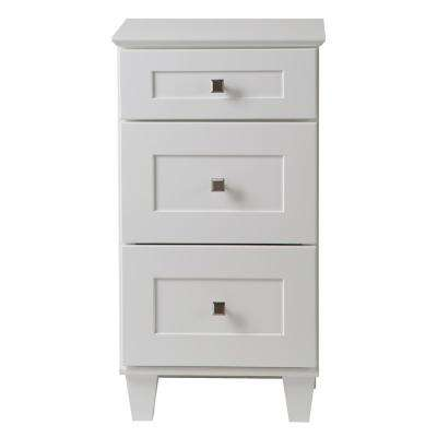 Creeley 19 in. W x 35.25 in. H Vanity Cabinet in Classic White