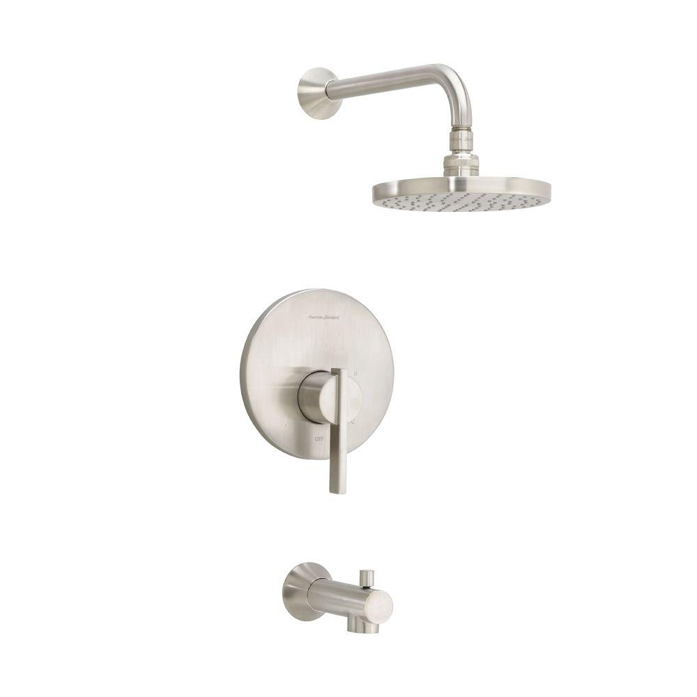 American Standard Berwick 1-Handle Tub and Shower Faucet Trim Kit in ...