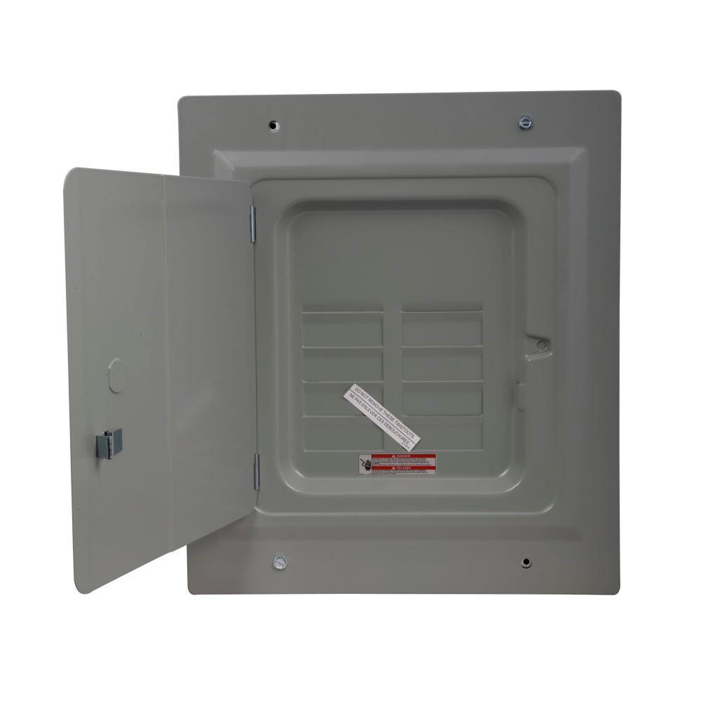 BR 125 Amp 4-Space 8-Circuit Indoor Main Lug Flush with Door