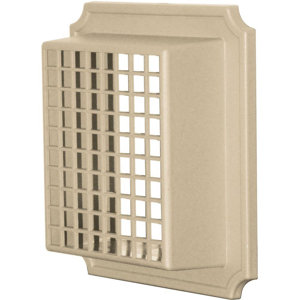 Exhaust Vent Small Animal Guard #013-Light Almond