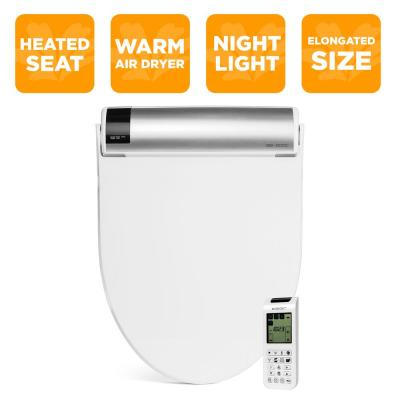 Bliss Electric Bidet Seat for Elongated Toilets in White