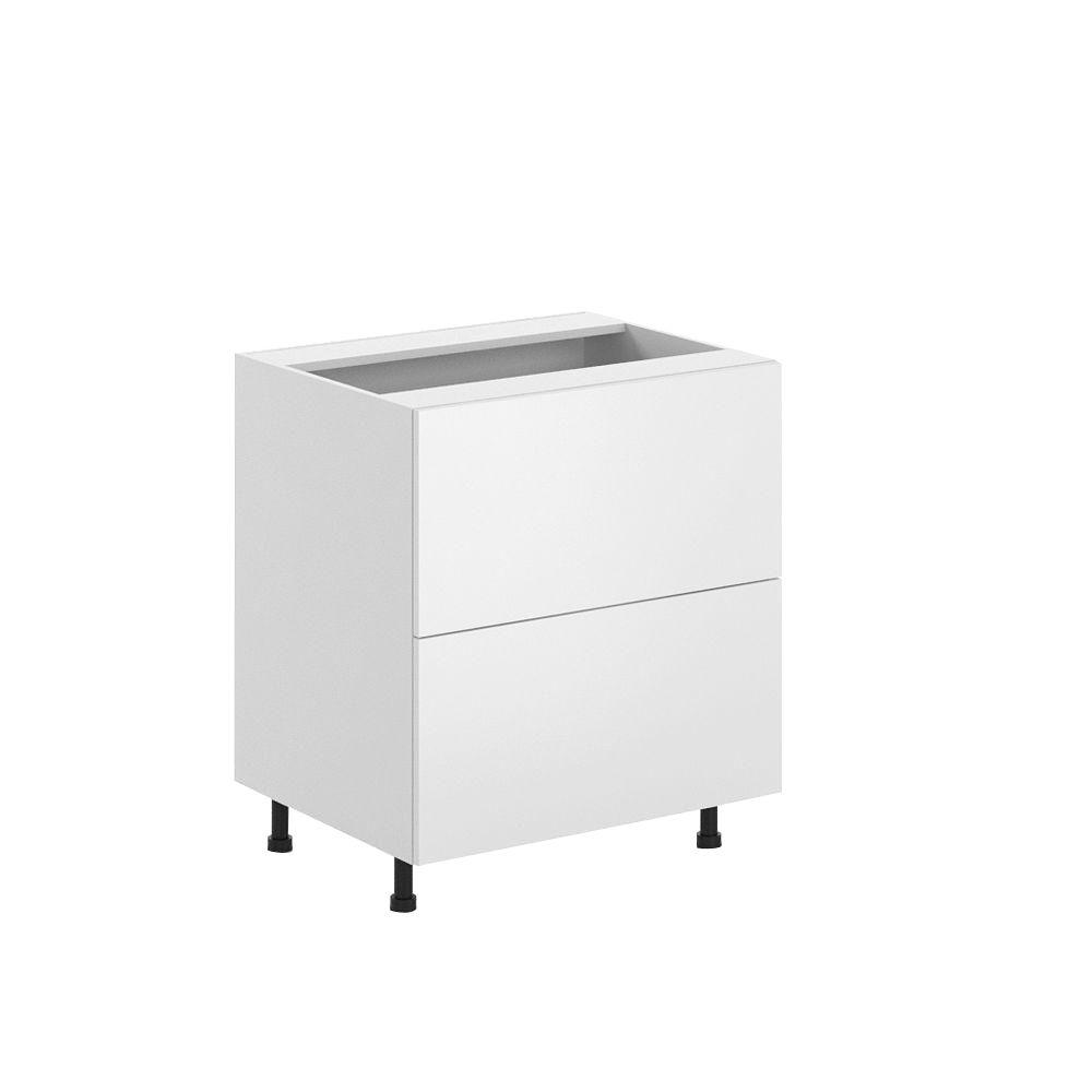 Ready to Assemble 30x34.5x24.5 in. Alexandria 2-Deep Drawer Base Cabinet in