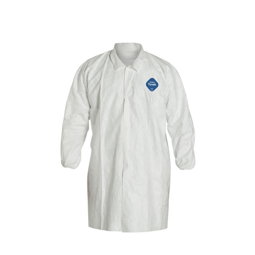 Dupont Tyvek Lab Coat White