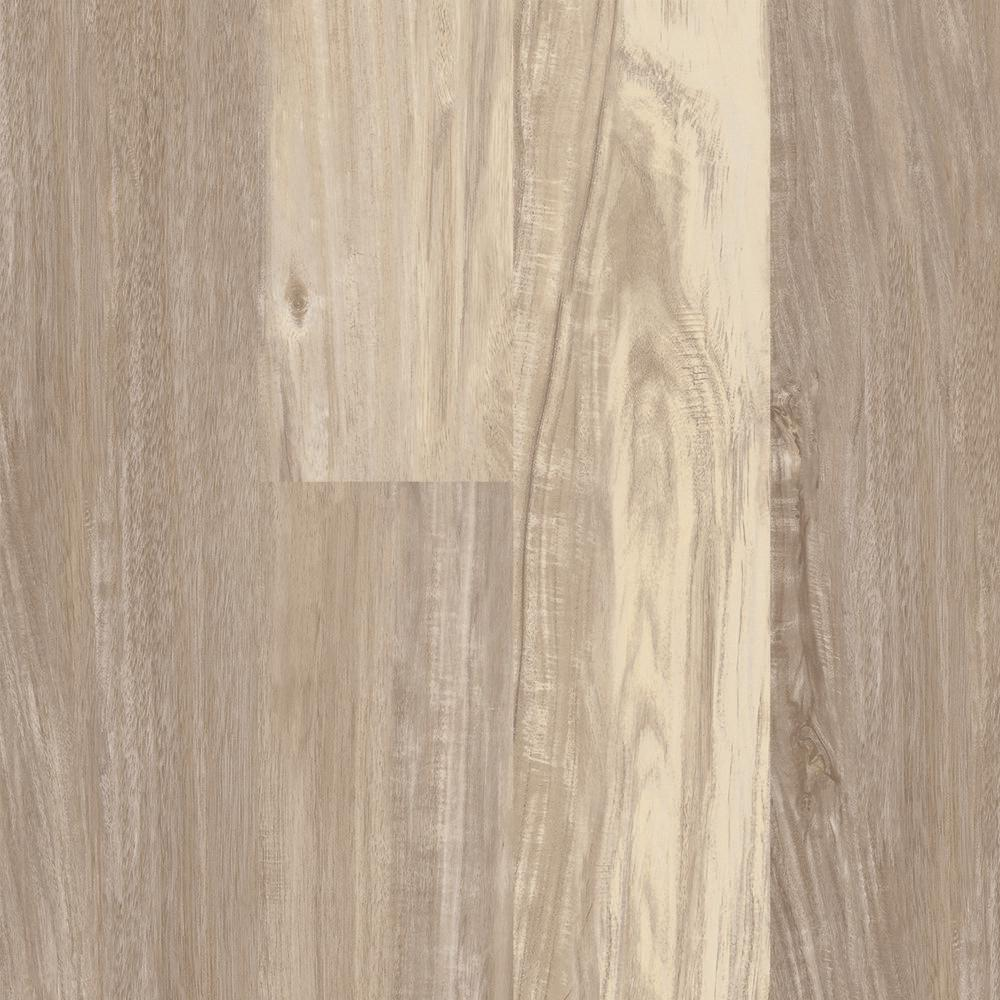 Home Decorators Collection Take Home Sample - Acacia Beige and Grey Click Vinyl Plank - 4 in. x 4 in.