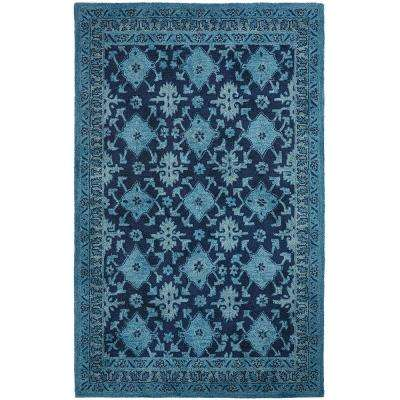 Wylie Blue 9 ft. x 12 ft. Area Rug