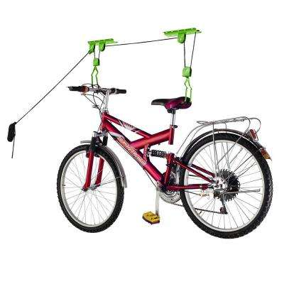 Heavy-Duty Bicycle Garage Storage Lift Hoist