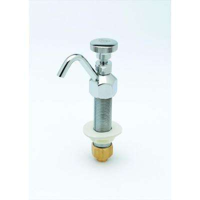 Dipperwell Single-Handle Standard Kitchen Faucet in Chrome