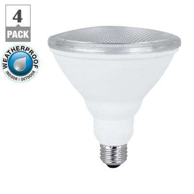 75W Equivalent Warm White (3000K) PAR38 LED Light Bulb Maintenance Pack (4-Pack)