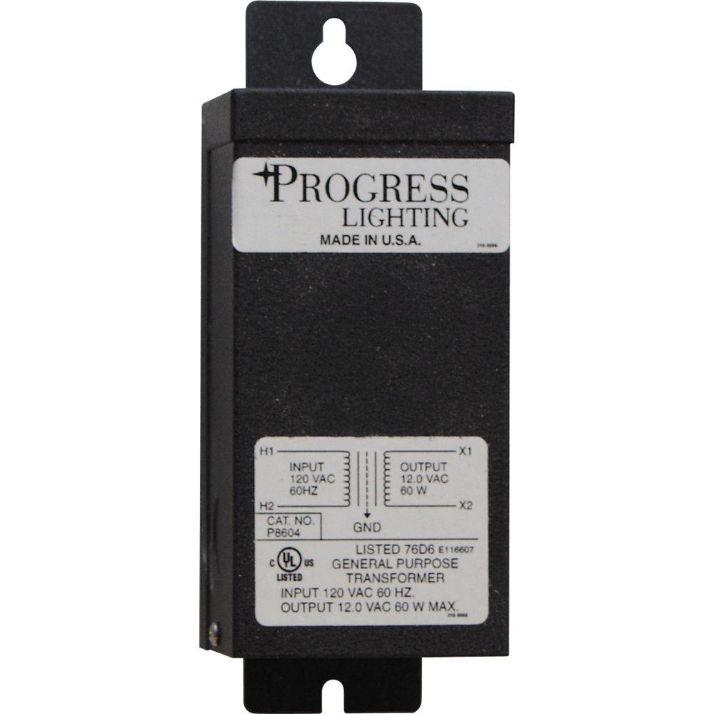 Progress Lighting 60-Watt Landscape Lighting Transformer
