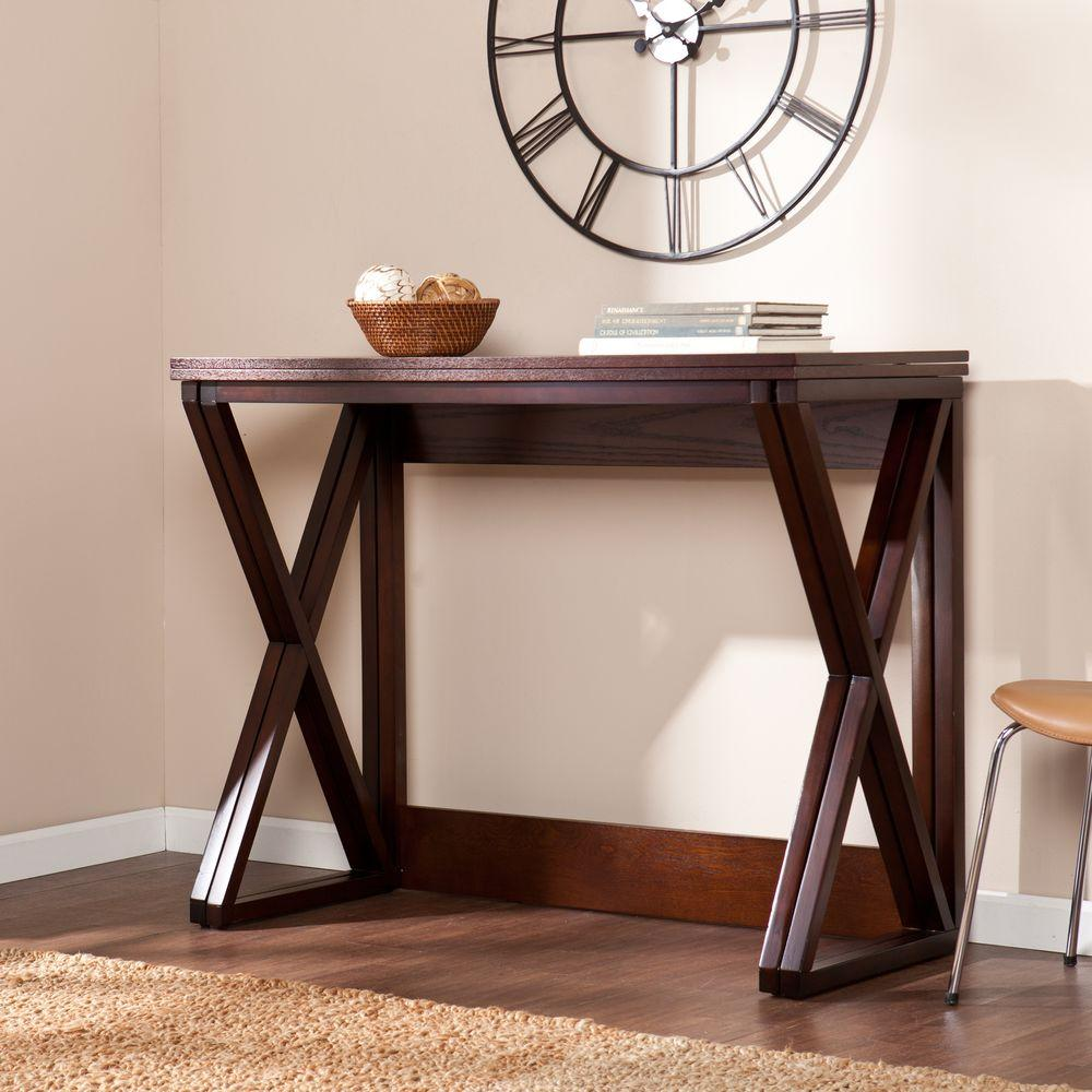 Southern Enterprises Lois Espresso Console Table