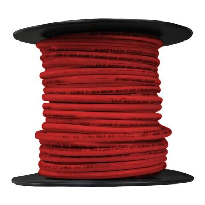 50 ft. 12-Gauge Red Stranded THHN Cable