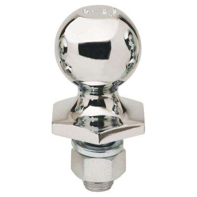 2 in. Chrome Interlock Hitch Ball