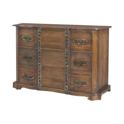 Heritage 3-Drawer Heritage Gray Chest
