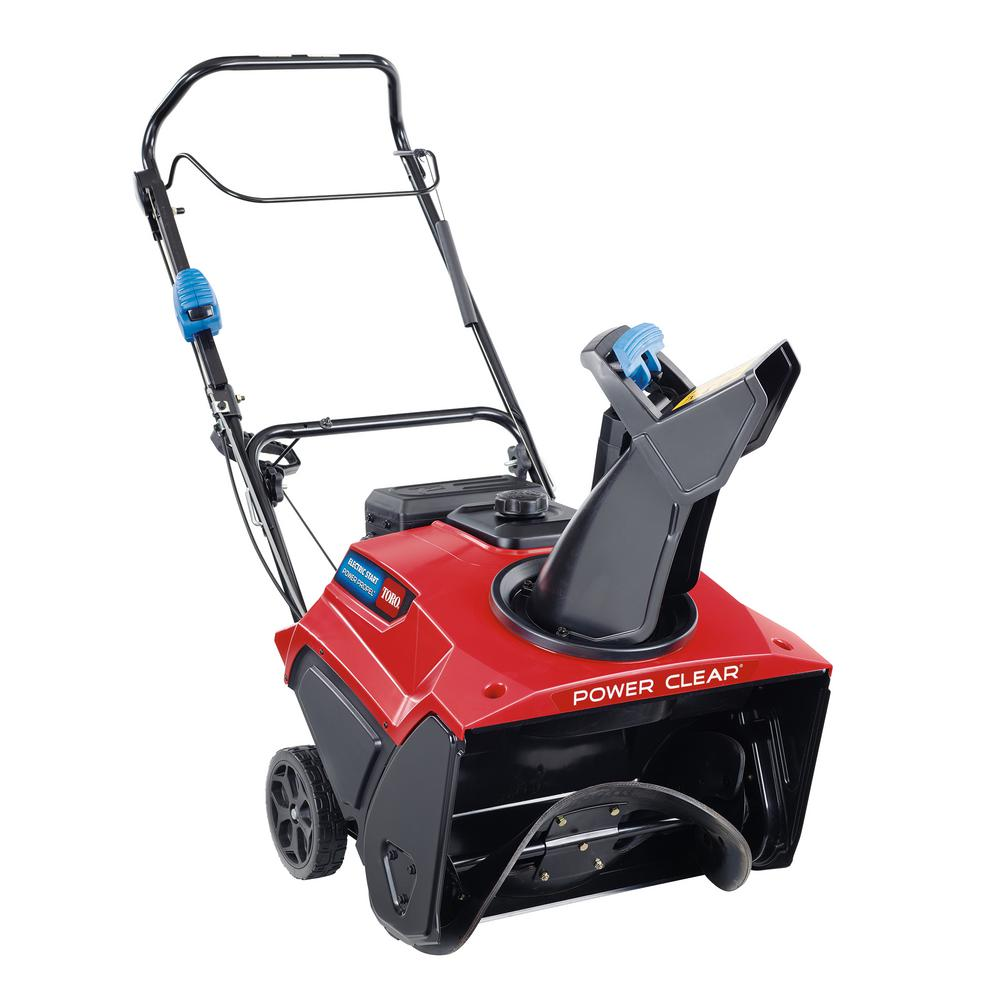 Toro Power Clear 721 QZE 21 in. 212 cc Single-Stage Self Propelled Gas Snow Blower with Electric Start