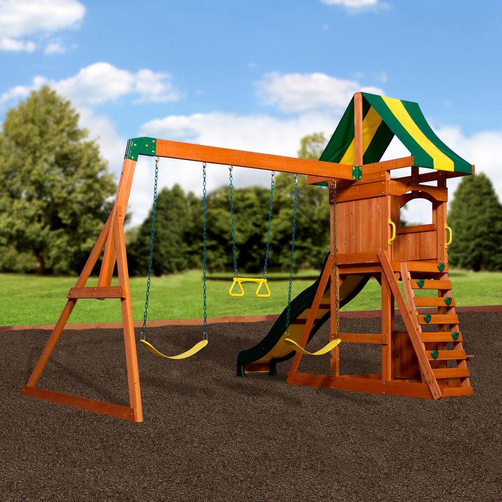 Backyard Discovery Weston Cedar Swing Set Instructions ...