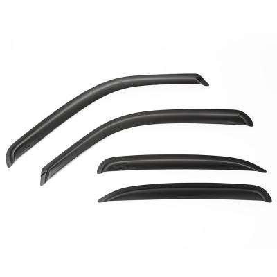 Matte Black Window Visor Kit 00-06 Chevrolet Tahoe and Yukon