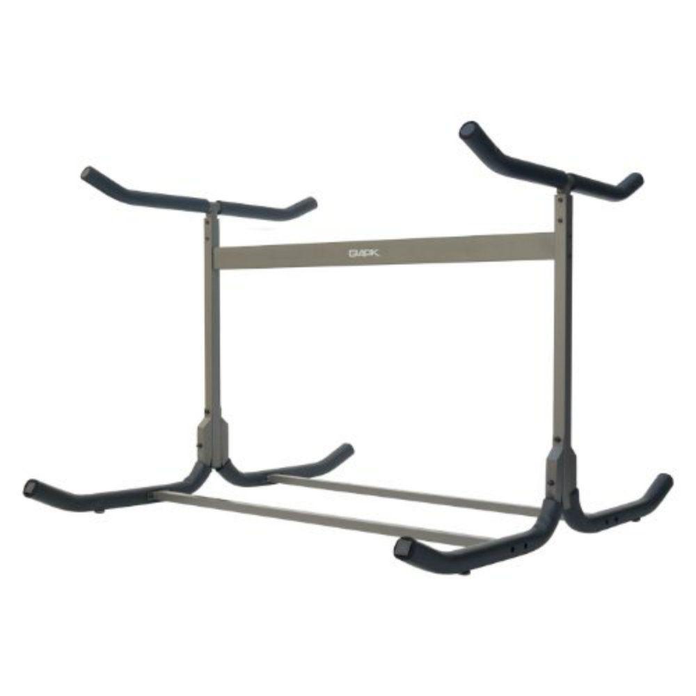 Stoneman Sports Glacik Freestanding Triple Kayak Or Canoe Storage Rack With Double Sided In Bronze