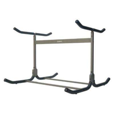 Glacik Freestanding Triple Kayak or Canoe Storage Rack with Double Sided in Bronze
