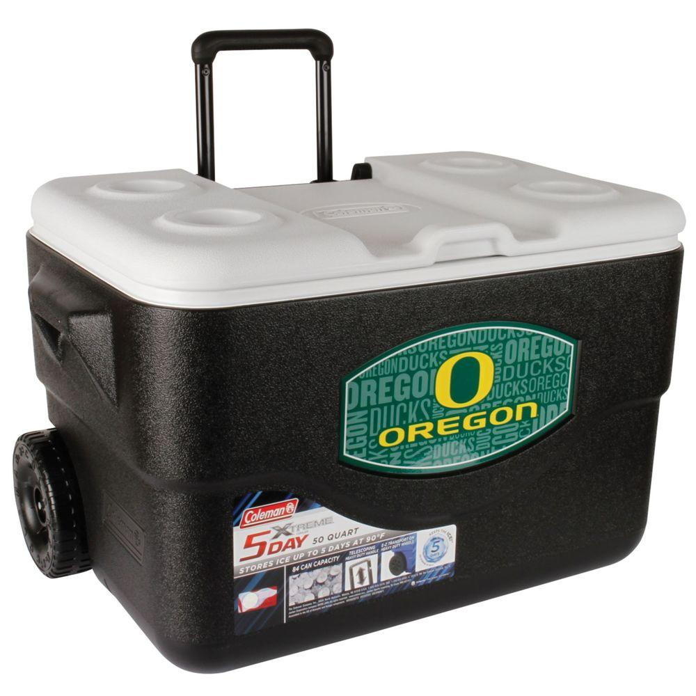 Coleman 50 Qt. Oregon Ducks Xtreme Cooler with Wheels