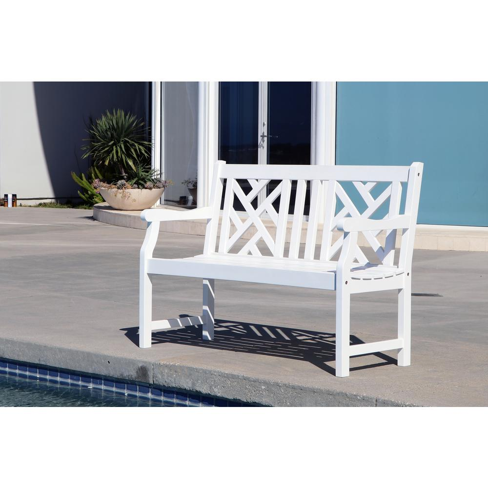 Atlantic Patio Furniture Reviews: Vifah Bradley 4 Ft. Patio Bench-V1631