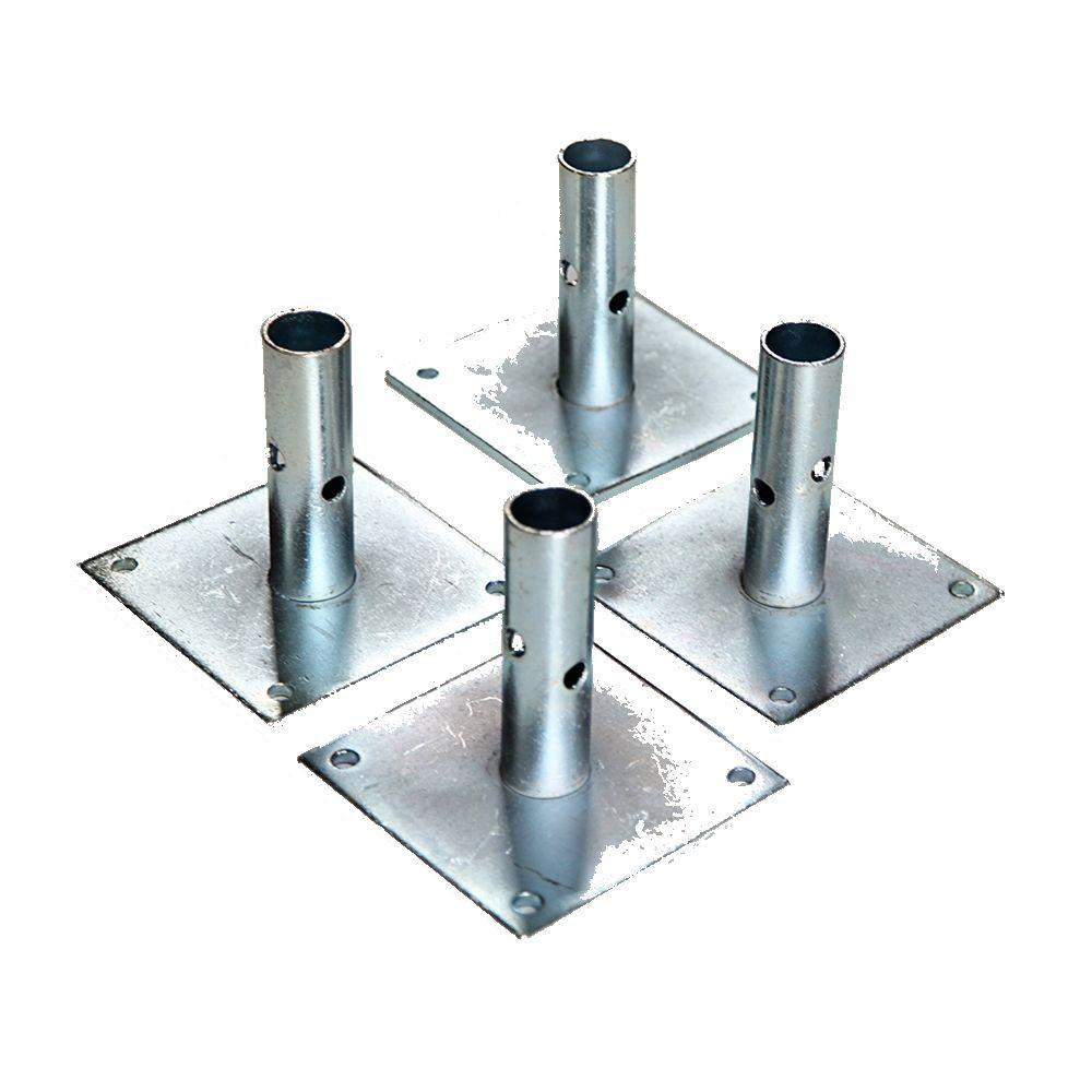 Fortress 5 in. Scaffold Baseplate (4-Pack)