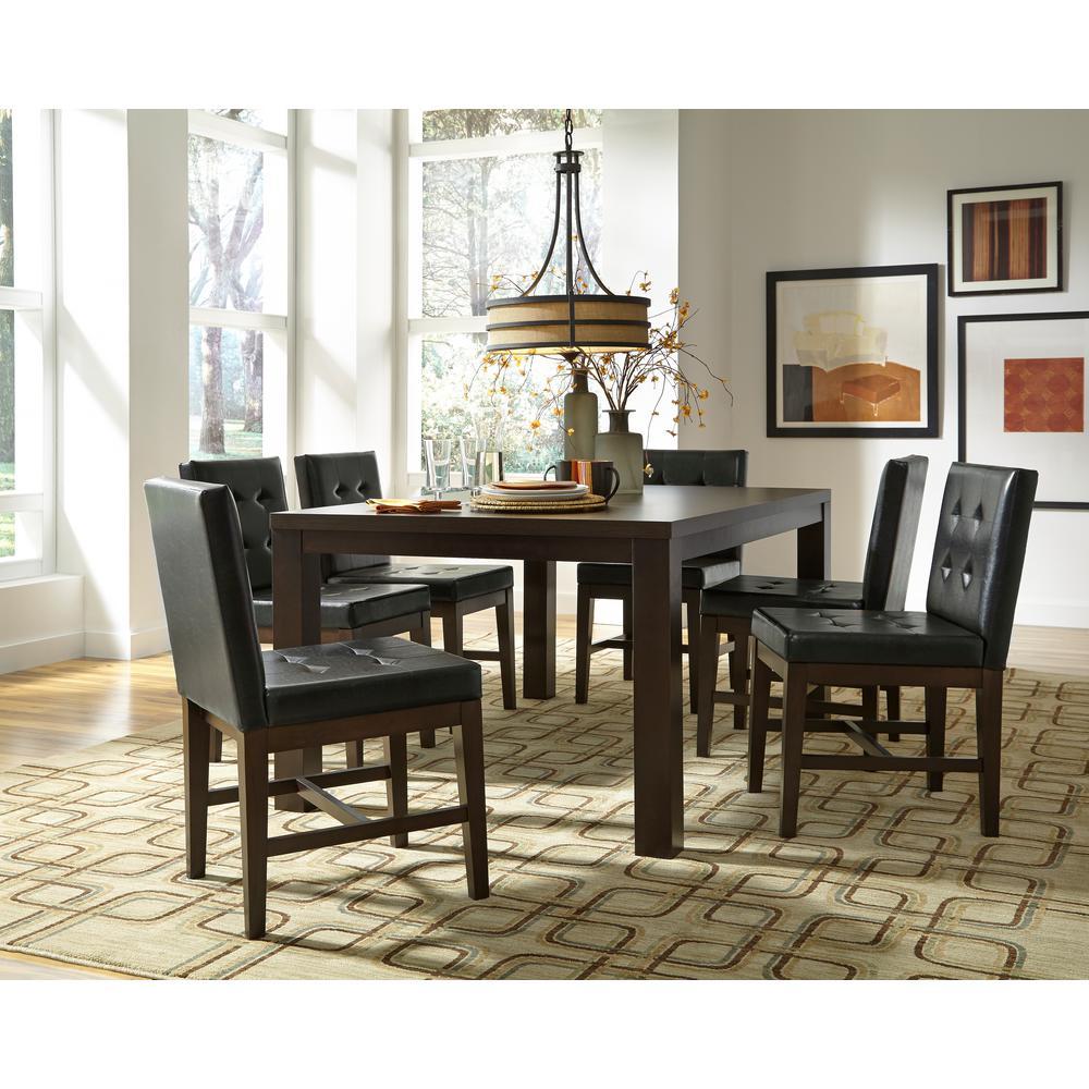 Athena Dark Chocolate Rectangular Dining Table