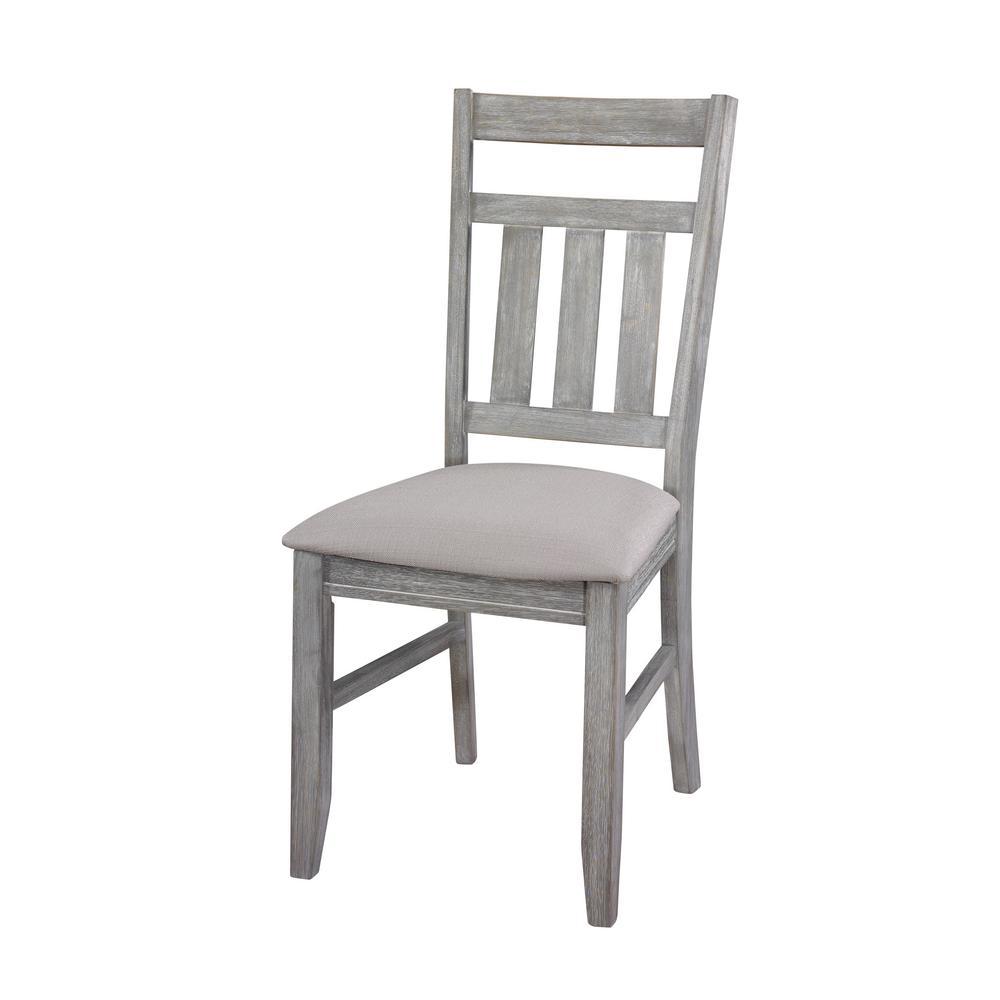 Krause Gray Oak stain Side Chair