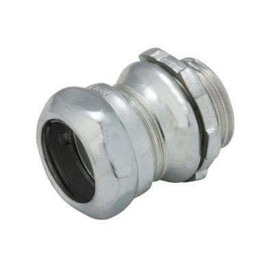 1/2 in. EMT Un-Insulated Steel Compression Connector (50-Pack)