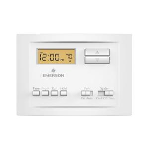 whites emerson programmable thermostats p150 64_300 emerson premium 7 day programmable digital thermostat up310 the wiring diagram for a emerson up310 thermostat at eliteediting.co