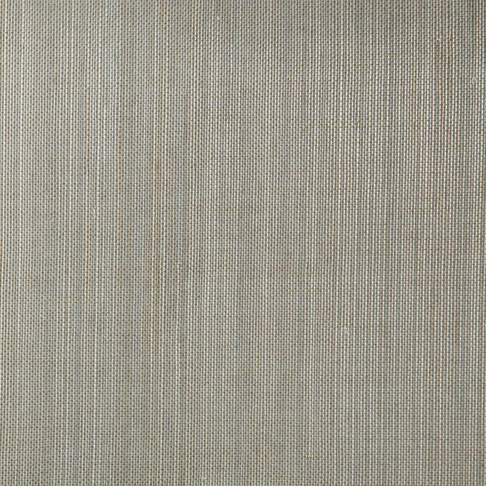 Printed Grasscloth Wallpaper: Kenneth James Manos Teal Grasscloth Wallpaper-2622-54752