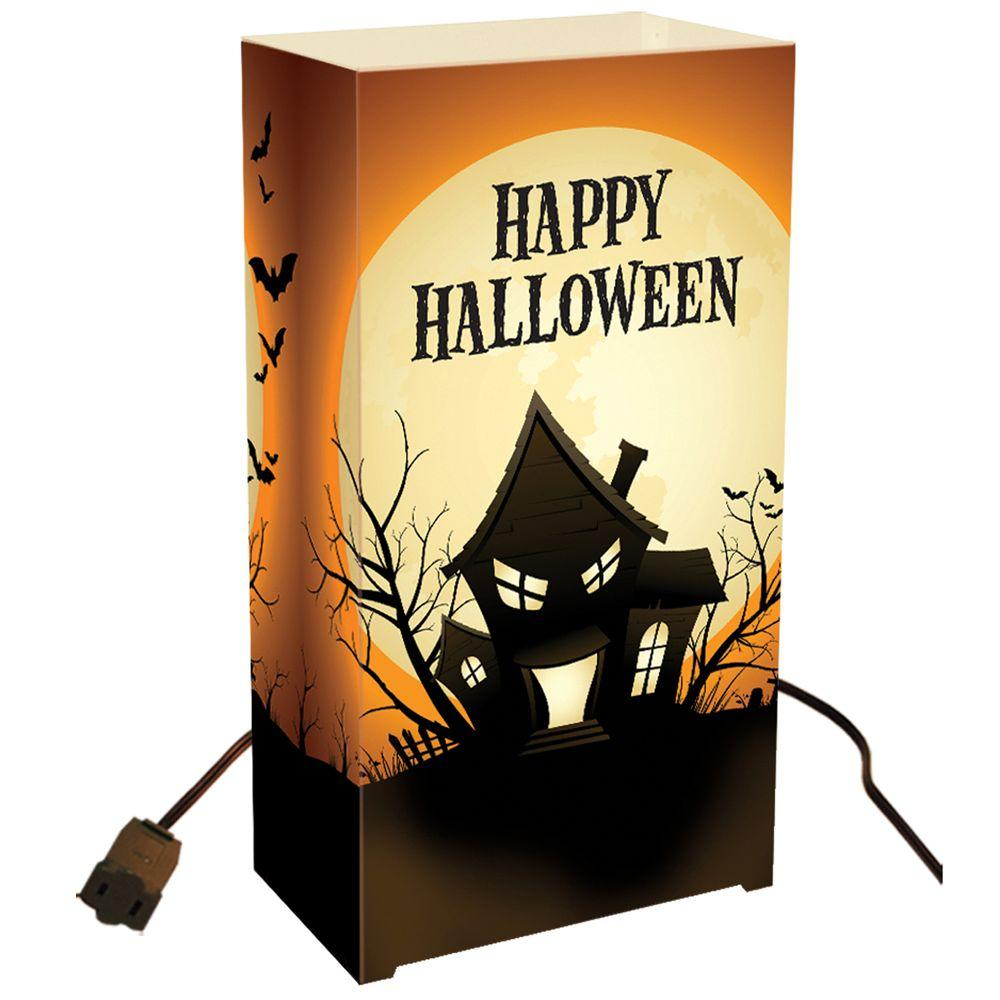 Lumabase Electric Luminaria Kit - Haunted House (Set of 10)