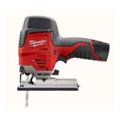 M12 Red 12-Volt Lithium-Ion Cordless Compact Jig Saw Kit