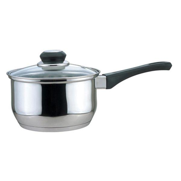 CULINARY EDGE 1 Qt. Sauce Pan with Glass Cover