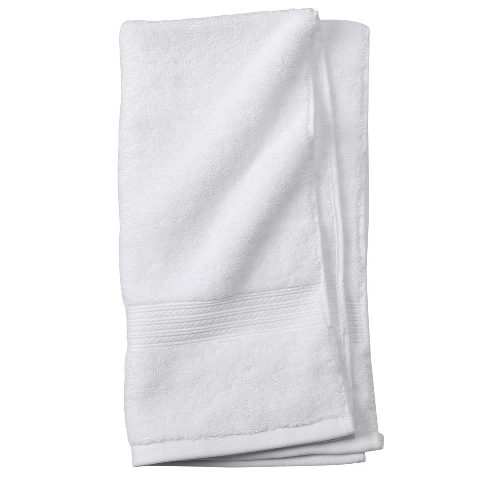 Newport 1-Piece Hand Towel in White