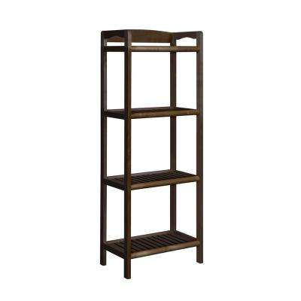 Abingdon Espresso Tall Bookcase