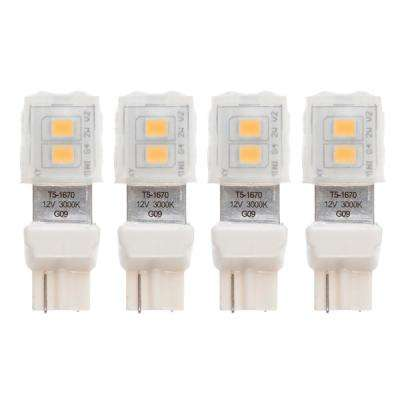 1.6-Watt 7-Watt Equivalent T5 LED Bulb Warm White(4-Pack)