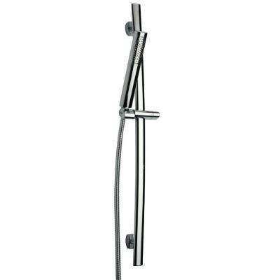 Novello 1-Spray Wall Bar Shower Kit in Chrome