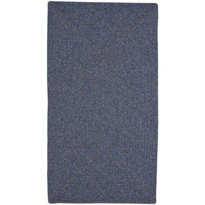 Candor Concentric Blue 2 ft. x 8 ft. Area Rug