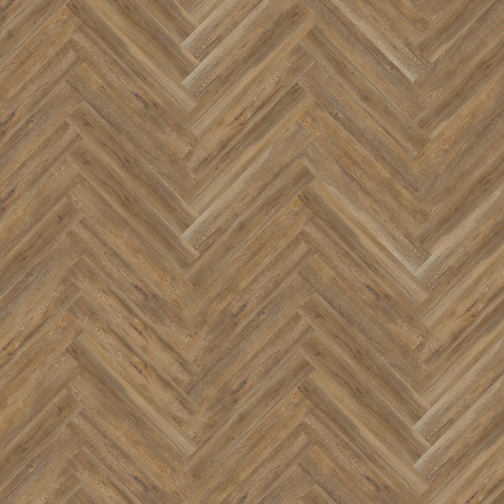 Blue Ridge Oak 4.72 in. W x 28.35 in. L Herringbone Luxury Vinyl Plank Flooring (22.31 sq. ft. / case)