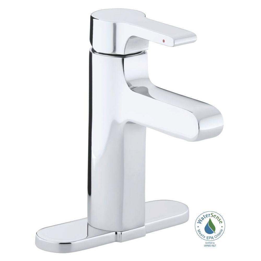 KOHLER Singulier Single Hole SingleHandle Bathroom Faucet In - Discontinued kohler bathroom sink faucets