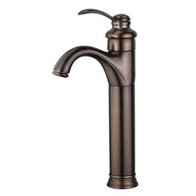 Madrid Single Hole Single-Handle Bathroom Faucet in Oil Rubbed Bronze